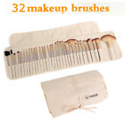 Multi-Color 32pcs/Set Professional Soft Beauty Makeup Brushes Tools + Bag Gift