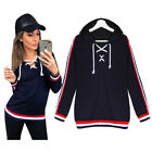 2017 Fashion UK Womens hooded Sweatshirt Jumper Winter Pullover Sweater Hoodie