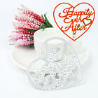 Merry Christmas Design Cutting Dies For Scrapbooking Decor Xmas Album Card Craft