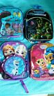 Child's Backpack, Choose from 4 - Doc, Turtles, Frozen  or Shimmer & Shine - New