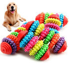 Multi-color Rubber Pet Dog Cat Puppy Dental Teething Healthy Teeth Gums Chew Toy