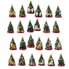 Quality Dog with Christmas Tree Ornaments Choice of  Breeds Personalized Free