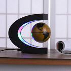 Magnetic Float Globe World Map Light Lamp Levitation Rotating 8 LED/C Shape Gift