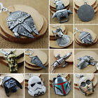 Star Wars Millenium Falcon Star Destroyer Metal Keyring Keychain Key Chain Ring $8.54 AUD