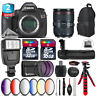 Canon EOS 5DS DSLR + 24-105mm 4L IS II + Slave Flash + Battery Grip - 48GB Kit