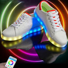 Luminous Sneaker Shoes Mobile phone APP Control Intelligent Bright Light Casual
