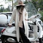 ByTheR Loose-fit Quality Knit Buttonless Vivid Colorful Over-sized Long Cardigan