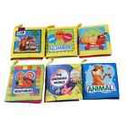 Baby Cloth Books Kids Intelligence Development Learn Pictures Cognize Book NEW S