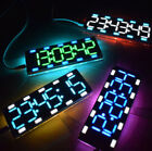 large screen clock - DIY 6 Digit LED Large Screen Two-Color Digital Tube Clock Kit Touch Control