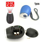 Fashion Mini Projection Clock with Key Chain Portable Digital Time Clock Display