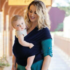 Infant Toddle Baby Carrier Swaddle Sling Wrap Sleeping Strap Newborn Nursing Bag