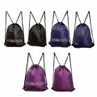 Head Gym Drawstring Sack Two String Carry Straps Sports Practice Fitness Bag