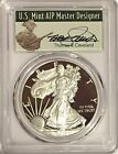 2017 S PROOF SILVER EAGLE PCGS PR70 DCAM T. CLEVELAND FIRST DAY OF ISSUE POP 500