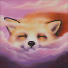 A RED FOX SLEEPING WILDLIFE COUNTED CROSS STITCH PATTERN PDF OR PRINTED