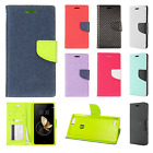 For ZTE Blade Z Max Premium Leather 2 Tone Wallet Case Pouch Flip Phone Cover