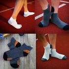 1 Pair Men's Sports Autumn Hiking Cotton Soft Short Ankle Low Cut Socks Solid