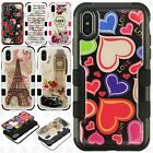 For Apple iPhone X IMPACT TUFF GEL HYBRID Protector Case Skin Covers