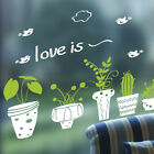 Flowerpot Removable Art Vinyl Quote Wall Stickers Decal Mural Home Kids Decor