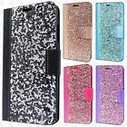 For Alcatel Fierce 4 Bling Diamond Wallet Case Flip Pouch Phone Cover Accessory