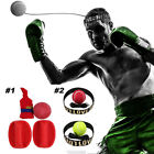Fight Ball Reflex Speed Ball + Head Band + Hitting Pad SET Kickboxing MMA Boxing