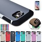 Hybrid Shockproof Hard Impact Armor Case Cover for Samsung Galaxy S6 SM-G920