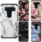For ZTE Majesty Pro HYBRID KICK STAND Rubber Case Phone Cover Accessory