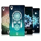 HEAD CASE DESIGNS SNOWFLAKES HARD BACK CASE FOR SONY PHONES 2