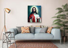 """Jesus Ascended Sky Art Poster Prints Wall Room Decor Canvas Painting 16x20"""""""