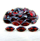 12x6mm[10/25/75/100Pc] Calibrated Natural Red Garnet Marquise Cut Top Color Gems