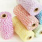 100m Cotton Bakers Twine Spool String DIY Sewing Gift Wrapping Packaging Treat S