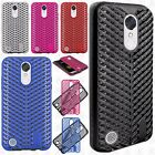 For LG Grace 4G LTE / L59BL Zig Zag Shockproof Hybrid Rubber Silicone Case Cover