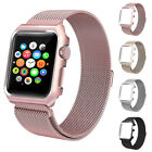 New Stainless Steel Watch Bands Straps with Metal Case for Apple Watch 42mm 38mm