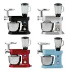 cooks professional stand mixer mincer 10 speed mixing bowl dough hook 1200w new