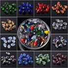 Wholesale Lot 20/50pcs 12X8mm Teardrop Faceted Loose Spacer Glass Beads Jewelry