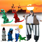 Fancy Dinosaur Pirate Air Inflatable Costumes Party Adult Cosplay Unisex Suit