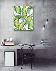 Modern Art Poster-Frost Banana Leaf Theme Prints Wall Room Decor Canvas Painting