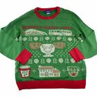 Griswold Family Christmas Vacation RV Ugly Sweater Mens Adult Size M L XL