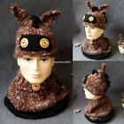 New Interesting Donkey Shape Design Hat Autumn and Winter Tide Children N4U8