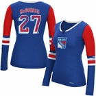 New York Rangers Reebok Women's Rbk Edge Long Sleeve Jersey T-Shirt