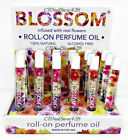 Blossom- Roll On Perfume Oil Infused with Real Flowers 0.2oz - Choose Any Scent