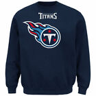 Tennessee Titans Majestic 16 Men's Critical Victory Crew Sweatshirts - Navy