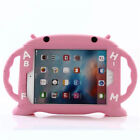 """Kids Handle Shockproof Soft Rubber Stand Cover Case For iPad Air /Mini /Pro 9.7"""""""