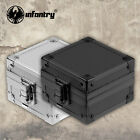 INFANTRY Metal Watch Box Display Case Storage Holder Jewelry Gift Organizer