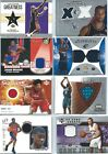 Basketball Game Used cards - Various Years and Brands - Pick your Favorites !!