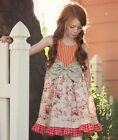 NWT Persnickety Pocket Full of Posies Brandi Dress Pink Floral Girls sz 2 3 8