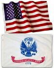 US Army and American Flag Combination, Made In USA, All Sizes, You Pick