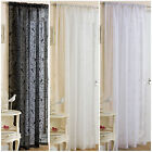 New Tyrone Birdcage One Voile Net Ready Made Curtain Panel Size & Colour Choice