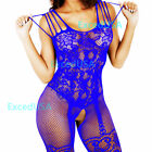 Lingerie Sexy Bodystocking Bodysuit Fishnet Stocking Nightwear Sleepwear Lace US