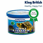 King British Turtle And Terrapin Complete Balanced Food With Krill 20/80/200g