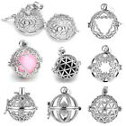 1x Fashion Openable Cage Harmony Ball Locket Pendant Charm Fit Necklace DIY Gift